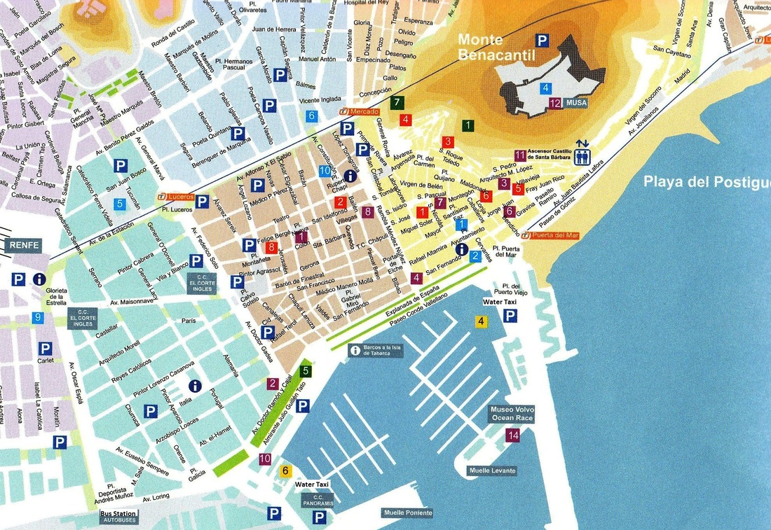 Map Of Alicante Map of Alicante   Casa Isabella
